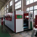 4mm stainless steel otomatis besi lembaran serat laser mesin pemotong logam untuk dijual