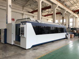 1500mm x 3000mm Penjualan Panas dan Harga Yang Baik Mesin Pemotong Laser Serat dengan Sumber Laser 500W, 700W, 1000W