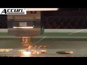 2000W logam mesin pemotong laser untuk stainless steel, baja ringan 12mm, lembaran baja cnc laser