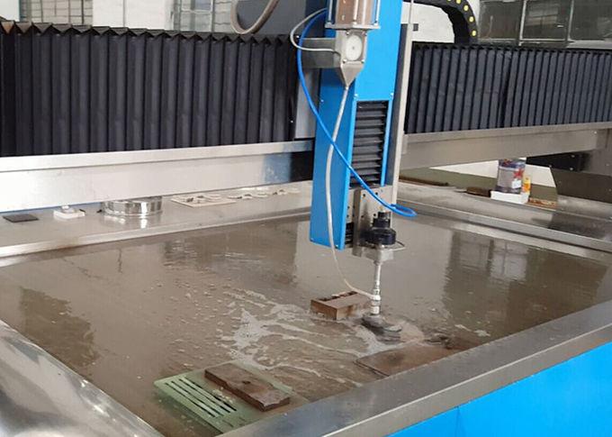 38KW Listrik Power Water Jet Mesin Pemotong CNC Air Steel Cutter 3.7L Min Mengalir