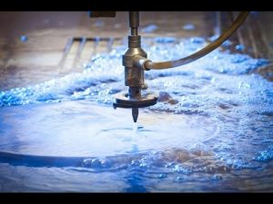 3D 5 Axis Waterjet Mesin CNC-Water jet Cutting Stainless Steel-Waterjets Tekanan Tinggi