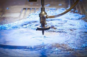 3D 5 Axis Waterjet Mesin CNC-Water jet Cutting Stainless Steel-Waterjets Tekanan Tinggi