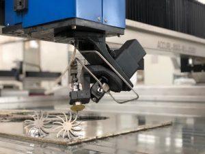 3D Waterjet Mesin Pemotong dengan 5 Axis Water jet Harga Cutting CNC Untuk Dijual