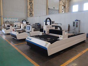 500W serat laser cutting harga mesin untuk logam
