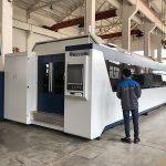 500w 700w 1kw, 2kw, 3kw, lembaran logam cnc mesin pemotong laser serat optik