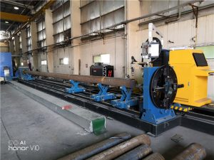 tabung laser mesin pemotong pipa cnc dengan garansi 3 tahun