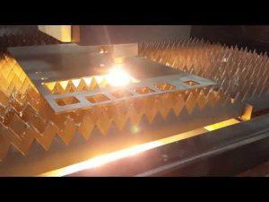 ACCURL Fiber Laser Cutting 12mm dengan IPG 2kw Laser Cutting Sheet Metal Cutting Machine