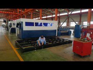 serat laser mesin pemotong untuk logam baja laser cutting harga mesin Cina pabrik akurasi