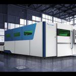 akurasi ipg 4000 w serat laser mesin pemotong 2000 x 6000mm harga 4kw laser pipa tabung profil cutting