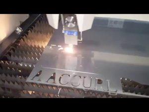 ACCURL IPG 500w 700w Mesin Pemotongan Laser Serat - CNC Mesin Pemotong Laser untuk Baja Ringan 6mm
