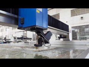 mesin pemotong waterjet akurasi untuk memotong logam waterjet, batu, kaca, baja