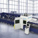 penjualan panas serat laser mesin pemotong untuk memotong pipa logam profil