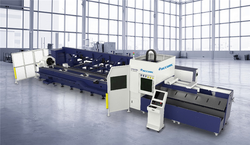Accurl tabung mesin cuuting laser