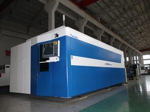 Mesin Pemotong Laser Serat Fiber 500w 700w 1000w 2000w 3000w Mild / Stainless / Carbon Steel