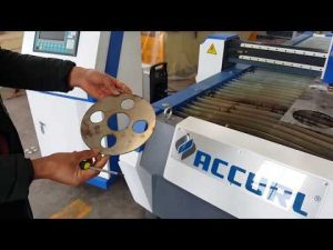 Mesin Pemotong Plasma CNC untuk Pemotongan Logam Lembaran dengan Hypertherm PowerMax 125