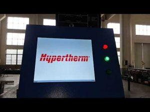 cnc plasma cutting dan mesin pemotong api oxy dengan plasma hiperterm hyperformance hpr400xd