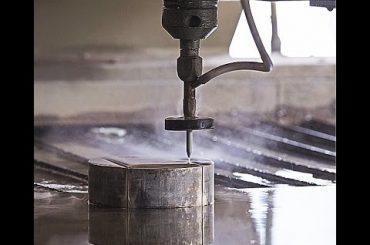 CNC Water Jet Cutting CNC Waterjet Mesin Pemotong untuk Memotong Baja - Granit - Plastik