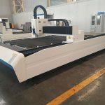 China 400w 600w harga murah lembaran logam cnc laser cutting mesin