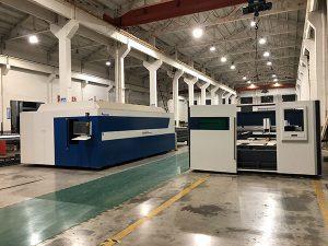 Pemasok cina 3015 lembaran logam mesin laser cutting 1000 w 1500 w mesin laser cutting untuk logam