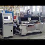 serat 500 w cnc mesin pemotong laser untuk lembaran logam 6mm baja ringan, stainless steel, tembaga, kuningan