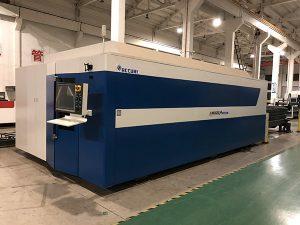 Kualitas tinggi logam stainless steel lembaran besi papan portabel cnc serat laser cutting harga mesin