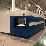 serat laser mesin pemotong daya tinggi cnc untuk stainless steel
