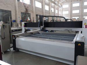Mesin pemotong baja tekanan tinggi waterjet