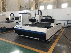 IPG 500 w 1kw 1500 w baja karbon, lembaran logam stainless cnc serat laser cutting harga mesin