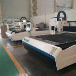 stainless steel baja karbon besi serat laser mesin pemotong 500 watt harga pabrik untuk dijual