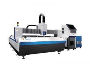 mesin pemotong serat laser memotong bahan tembaga dan aluminium