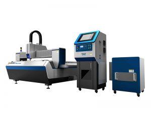 kepraktisan tinggi terbaik tabung terintegrasi mesin pemotong serat optik laser untuk logam