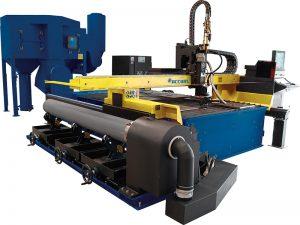 jenis meja cnc plasma mesin pemotong untuk lembaran logam
