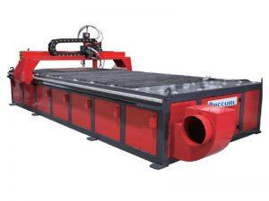 stainless steel / aluminium / lembaran besi 1530 meja cnc mesin pemotong plasma dengan program cad