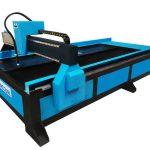 Pemasok cina cnc meja plasma / mesin pemotong api untuk produk mekanik