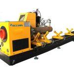cnc serat laser tabung logam / mesin pemotong pipa untuk tabung bulat / persegi / persegi panjang / oval