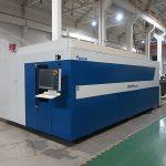 serat laser mesin pemotong baja karbon