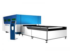 500w 1000w 2000w logam stainless steel peralatan pemotong laser serat untuk baja karbon 5mm