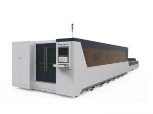 pipa persegi 2000 w baja desain panggangan jendela mesin pemotong serat laser