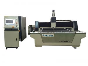 750W lembaran logam mesin pemotong laser serat untuk proses stainless steel