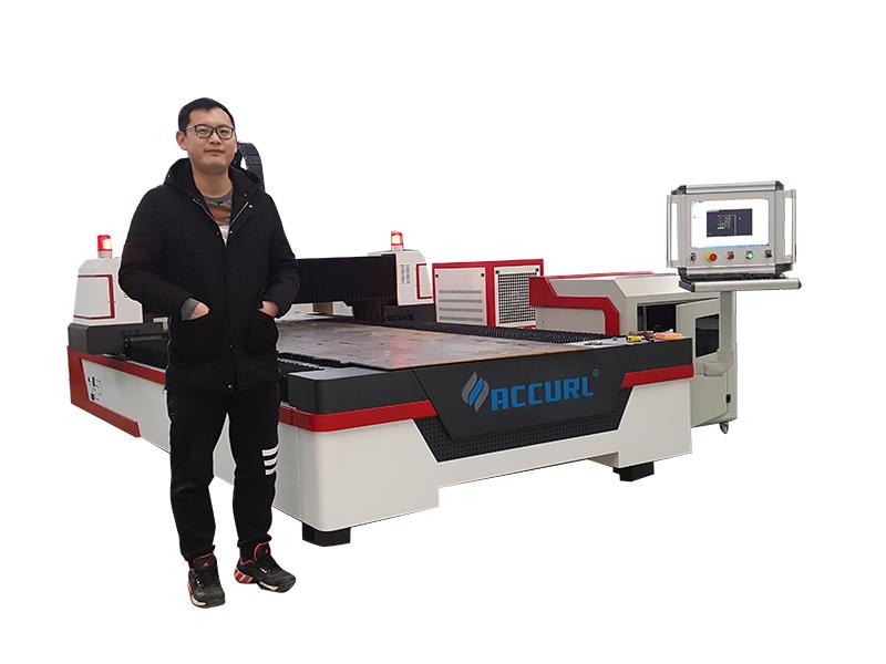 tabung logam mesin pemotong laser