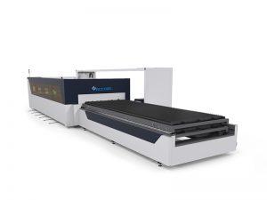 komputerisasi pipa logam mesin pemotong laser 1000 w