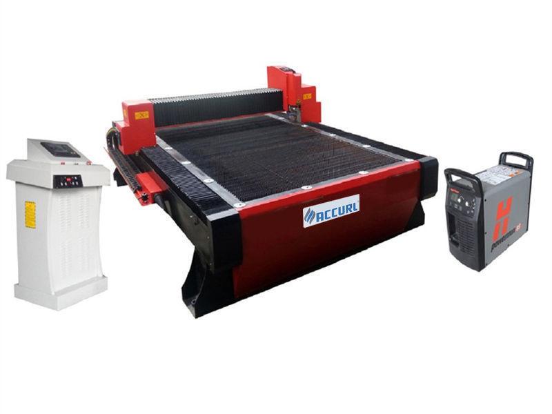 mesin pemotong plasma digunakan