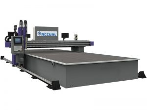 cnc miller plasma cutting obor mesin 16mm baja / besi untuk dijual