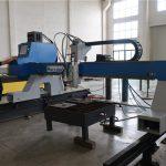 tugas berat pelat logam dan pipa bulat gantry cnc plasma api mesin pemotong