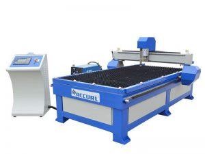 Harga mesin pemotong logam plasma stainless steel / cnc plasma mesin pemotong kecil