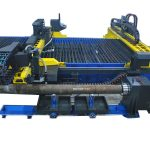 cina cnc mesin pemotong pipa stainless steel plamsa