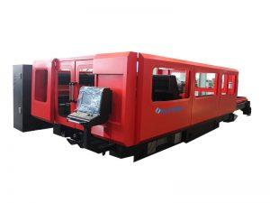 Serat laser cnc tabung mesin pemotong 500 w