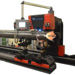 Dijual panas kecil pipa cnc mesin pemotong laser untuk tabung baja bulat persegi