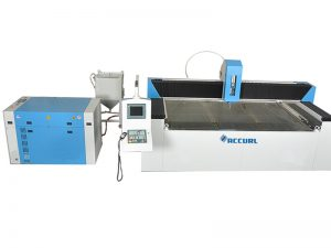 mesin pemotong ubin jet air presisi tinggi tahan lama untuk desain pola batu