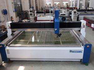 mesin pemotong waterjet untuk pemotongan kaca dengan sertifikasi CE TUV ISO9001 diterapkan Standar yang diterapkan